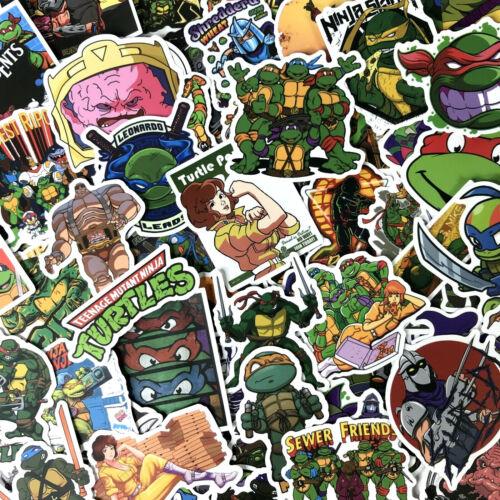 100pc TMNT Teenage Mutant Ninja Turtles Phone Laptop Cartoon Decal Sticker Pack