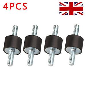 4Pcs M8 Male Anti Vibration Rubber Mount Car Bobbin Isolator Damper 30*20 UK