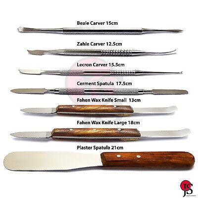 Dental Laboratory Carver Wax Modelling Wax Knife Mixing Spatula Waxing Carving