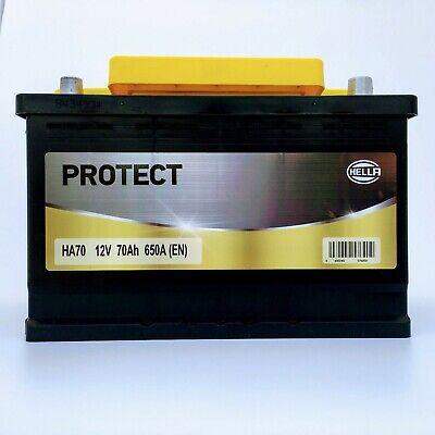 Bateria para coche 70 75 ah 680 amperios de arranque marca hella