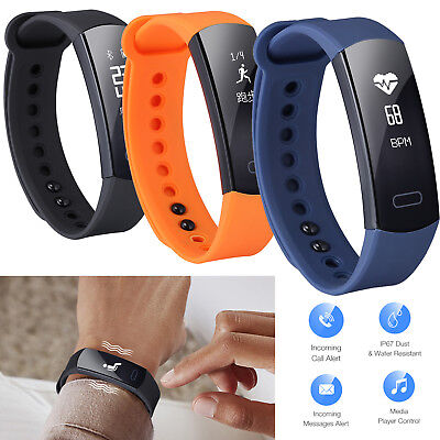 Bluetooth Fitness Tracker Best Step Counter Pedometer Activity Running Fit (Best Activity Trackers)