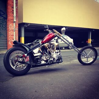 Harley davidson chopper..roller... Box Hill Whitehorse Area Preview