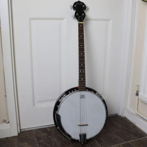 Vintage Gremlin 4-String Banjo - Remo Weather King - Good Condition Rare