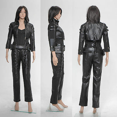 Arrow Black Canary Sara Lance Damen Kostüme Kunstleder Jacke Hosen - Black Canary Kostüm