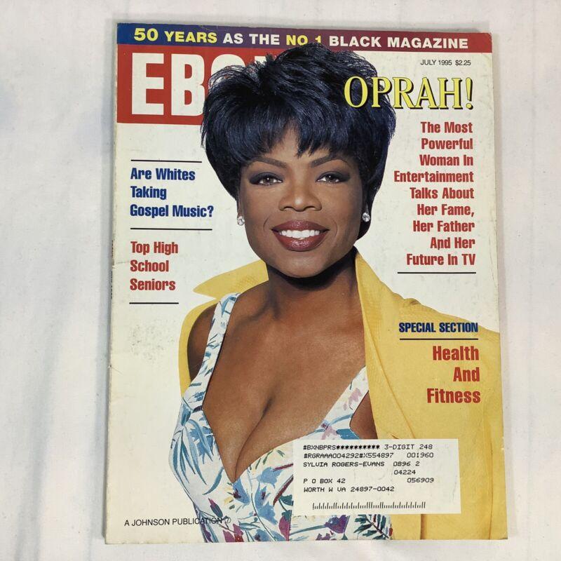 Ebony Magazine July 1995 Oprah Cover