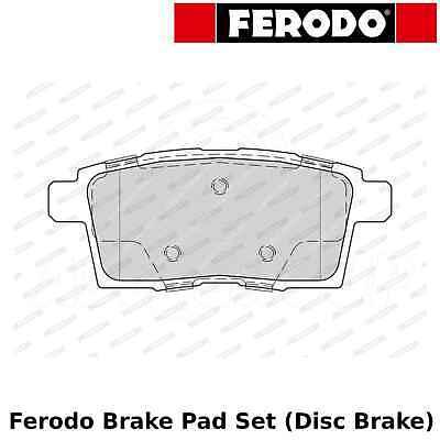 Ferodo Brake Pad Set (Disc Brake) - Rear - FDB4366 - OE Quality