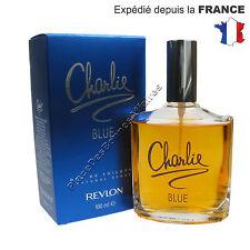 CHARLIE BLUE de REVLON pour Femme Eau de Toilette 100ml Neuf  +1 Échantillon