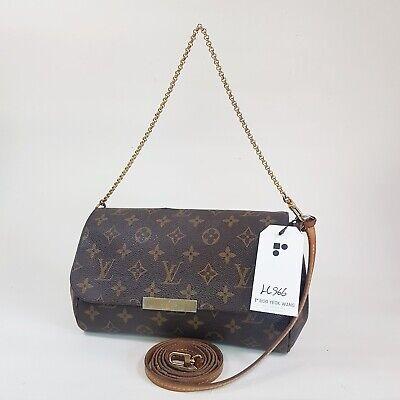 Authentic Louis Vuitton Favorite MM Monogram M40718 Guaranteed Genuine Bag LC966