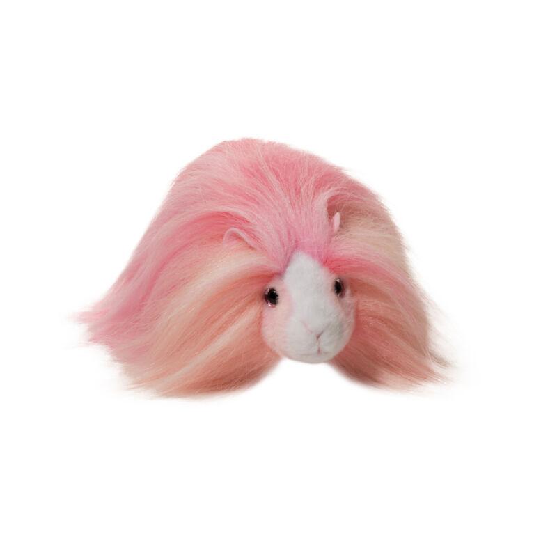 "Douglas Toys Bubble Gum Guinea Pig Fur Fuzzle Stuffed Animal Plush, 8"""