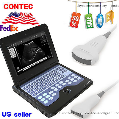 Ce Digital Portable Laptop B-ultrasound Scanner Machinecontecconvexlinearusa