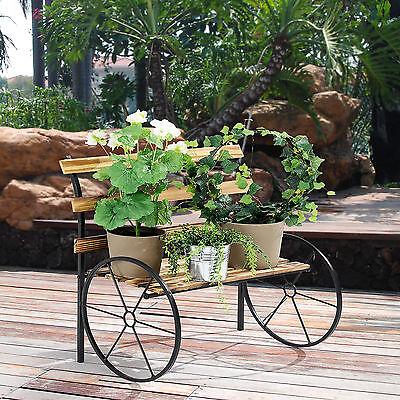 [NEU.HAUS] Blumenständer Pflanzenständer Blumen Pflanzen Treppe Bank Metall Holz