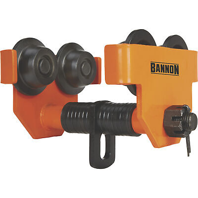 Bannon Push Trolley- 6600-lb. Capacity Fits 4inw To 8inw I-beam