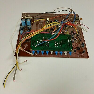 ORIGINAL PC MOTHER BOARD for SANSUI SE-7 Stereo Audio Equalizer 10 Band EQ Part (Equalizer Stereo-audio)