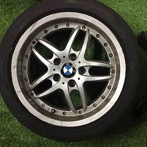 BMW 3-Series E36 set of wheels and tyres Acacia Ridge Brisbane South West Preview