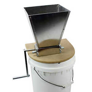 Malt Muncher Grain Mill With Base Plate Home Brew RLRMWH