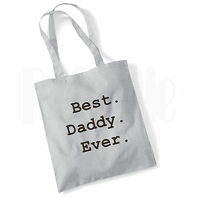Baby Changing Nappy Tote Bag For Daddy- 'Best.Daddy.Ever.' - GIFT FOR NEW