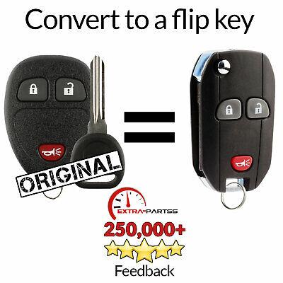 For 2007 2008 2009 2010 Chevrolet Silverado 1500 2500 3500 Remote Flip Key Fob