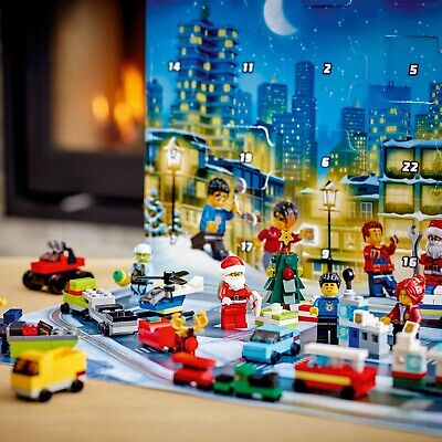 Advent Calendar LEGO Christmas City Gift Set In Hand Ships Quick Perfect Gift