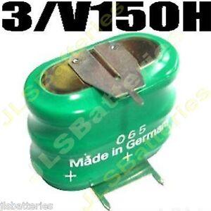 Varta Mempac 3/V150HT 3.6V Fruit Machine Backup Battery