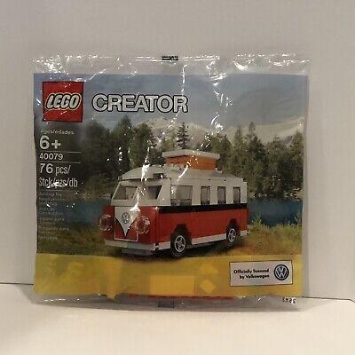 LEGO Creator 40079 Mini VW Volkswagen T1 Camper Van Polybag - NEW & SEALED ()