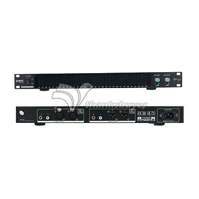 Bds Pp-31 Spectrum Analyzer Music Audio Led Display 1u Level Indicator Vu Meter