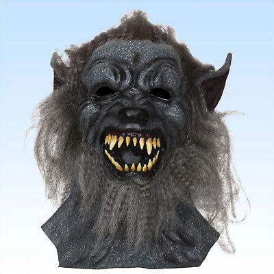 Vollmaske Wolf Wolfsmaske Tiermaske Faschingsmaske Erwachsene - Wolf Maskerade Maske