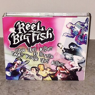 Our Live Album Is Better Than Your Live Album by Reel Big Fish CD 3-Disc