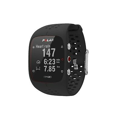 Polar M430 GPS running watch with wrist-based heart rate Black