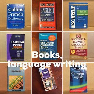 Book nonfiction language writing SAT GRE