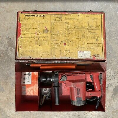 Hilti Te-52 Rotary Hammer Drill Tested Works Great