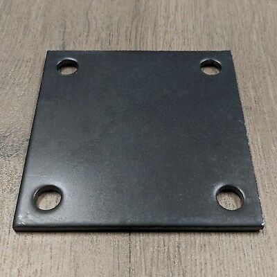 Steel Metal Base Plate 4 X 4 X 18 Qty 4