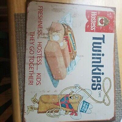 Twinkies vintage metal sign