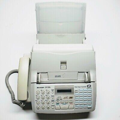 Sharp Ux-510a Fax Machine Plain Paper Facsimile Working