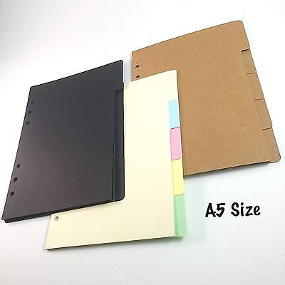 A5 Size Dividers With Tabs For A5 Planners Large Agenda Organizers