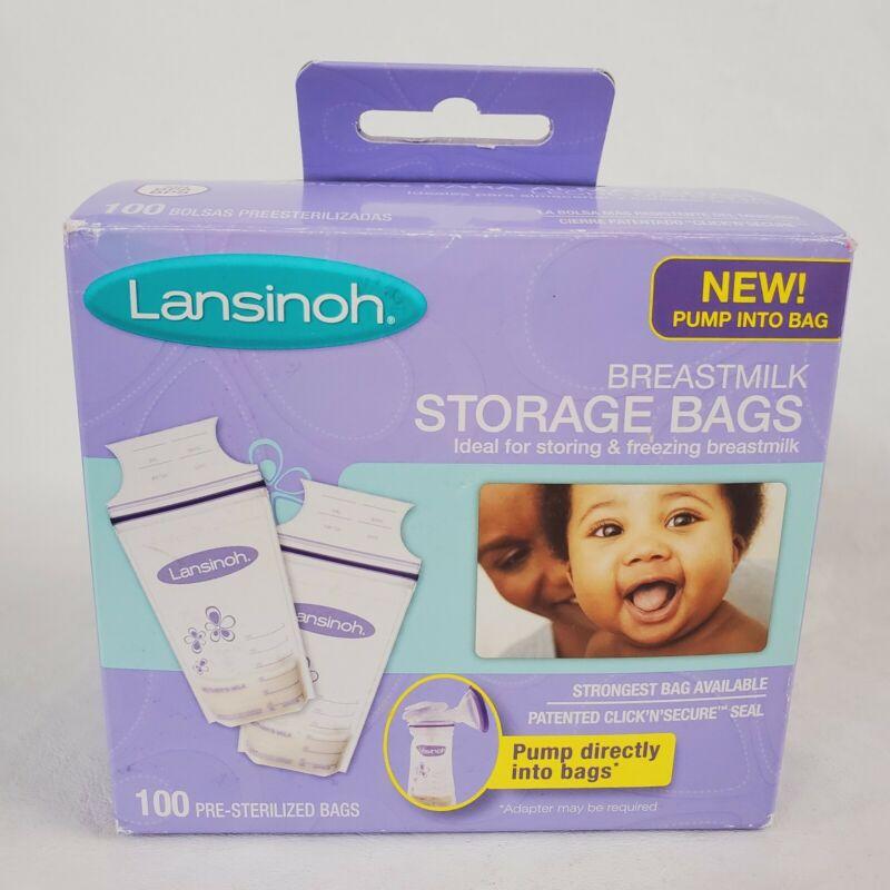 LANSINOH Breastmilk Storage Bags 100 Count Our Breastmilk Storage Bags