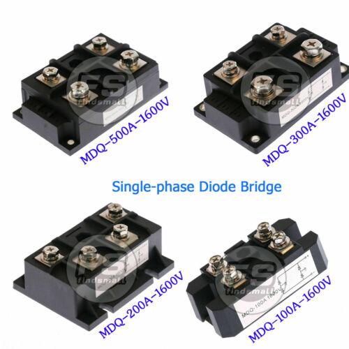 Amp Power Module Single-phase Diode Bridge Rectifier1600V MDQ-100A/200A300A/500A