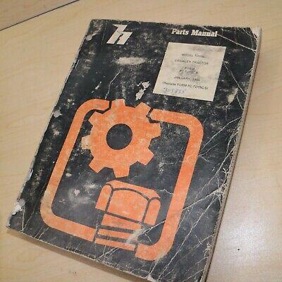 Hough Model Td15c Crawler Tractor Parts Manual Book Catalog Dresser List Dozer