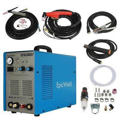 Plasma Cutter 50 Amp Tig Welder 200 Amp Foot Pedal Included 3 Year Warranty