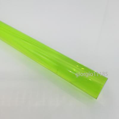 Us Stock 3pcs 10mm Dia. 13 Long Green Acrylic Plexiglass Lucite Plastic Rod