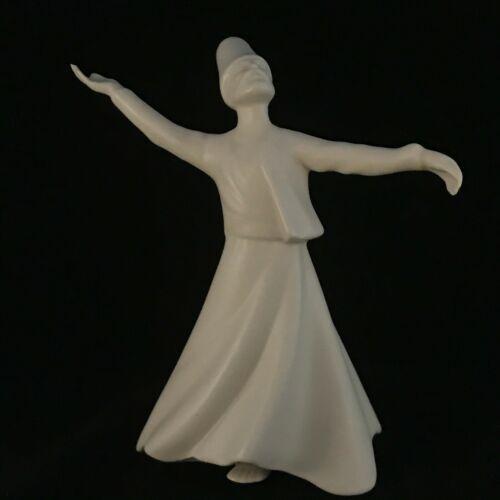 Vintage Whirling Sufi Dervish Porcelain Figurine, Turkish Sumerbank Yildiz