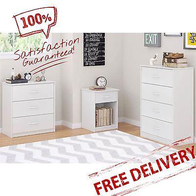 3-4-Drawer-Dresser-Nightstand-Chest-Bedroom-Furniture-Storage-Wood-Multi-Colors