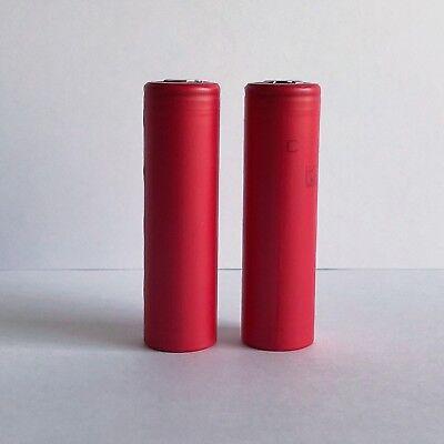 2pcs Genuine Japan Panasonic 3500mAh 10A NCR18650GA Li-Ion 18650 Battery -