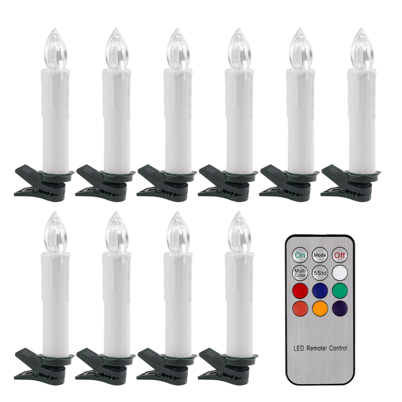 Led Christmas Window Candles