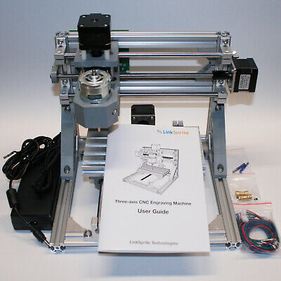 Linksprite 1610 3-axis Cnc Router Engraver Pcb Mill Arduino Grbl