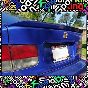 SPK 284G Fits: Honda Civic 1996-00 2/4dr Rear Trunk Lip Spoiler (Duckbill Wing)