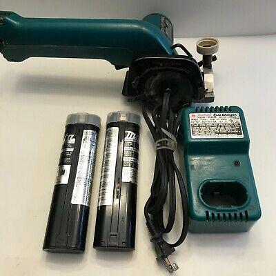 Makita 5081d 9.6v Cordless Circular Wet Tile Saw Wdc9000 Charger 2 Batteries