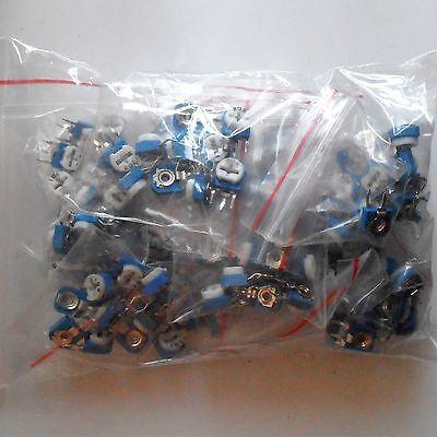 Side Adjustment Variable Resistor Assorted Kit 13 Value 130pcs Potentiometer