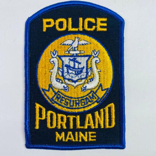 Portland Police Maine ME Patch (A)