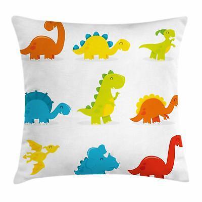Dinosaur Throw Pillow Cases Cushion Covers Home Decor 8 Size