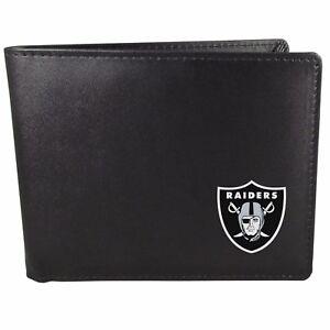 Oakland Raiders Bi-Fold Mens Wallet NFL Football Licensed Product